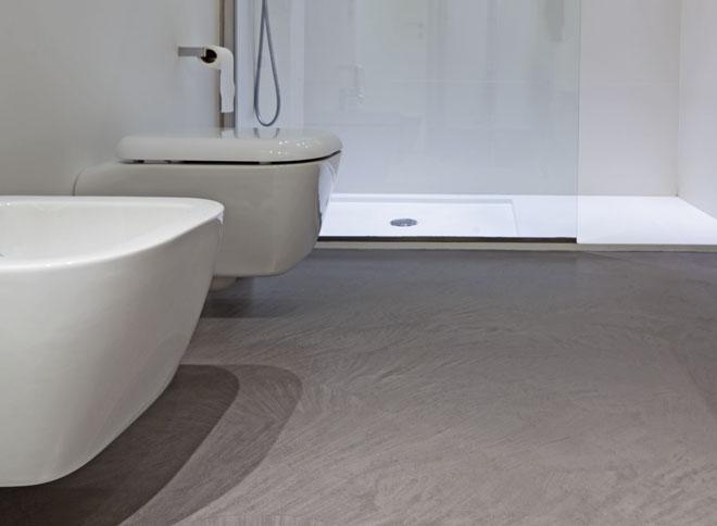 Resina pavimenti texture pavimento in resina con texture spatolata effetto cemento - Pavimenti in cemento per interni pro e contro ...