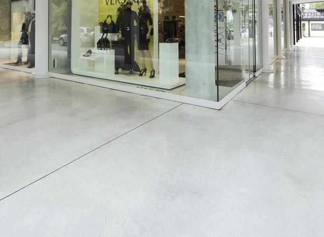 Pavimenti in cemento excellent cemento colorato with - Cemento colorato per esterno ...