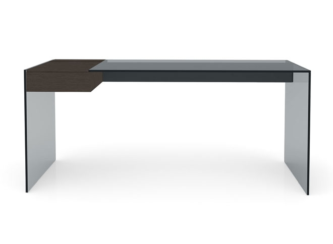 Design up prodotti air desk w scrivania design for Scrivania cristallo design