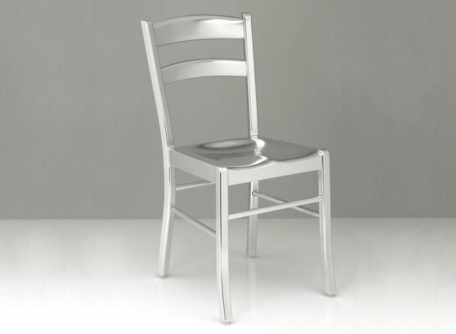 Sedie Alluminio Design.Design Up Prodotti Kore Sedia Design