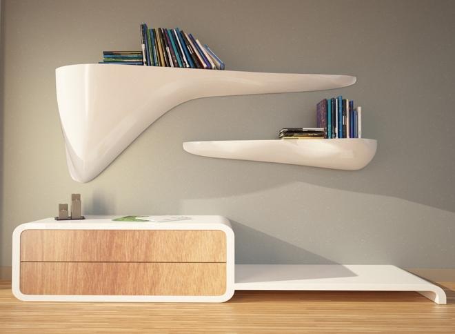 Design up prodotti cloudy mensola design for Prodotti design