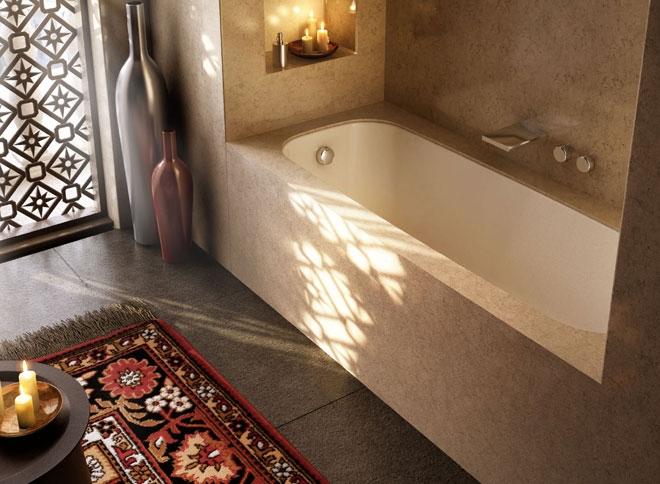 Vasca Da Bagno Con Nicchia : Vasca da bagno incasso sottopiano: vasche divina novellini. vasca da