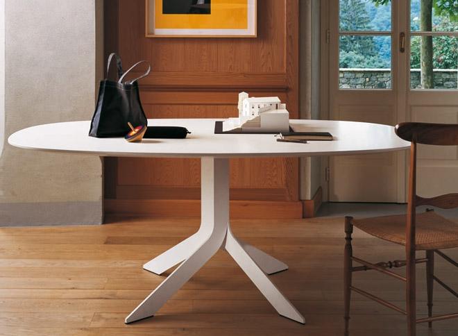 Forum tavolo ovale che ne pensate avete for Tavolo ovale bianco design
