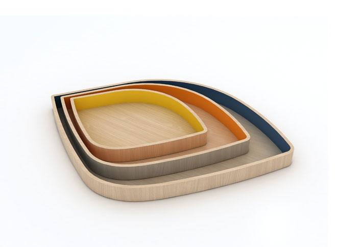 Design up prodotti foglia vassoio design for Prodotti design
