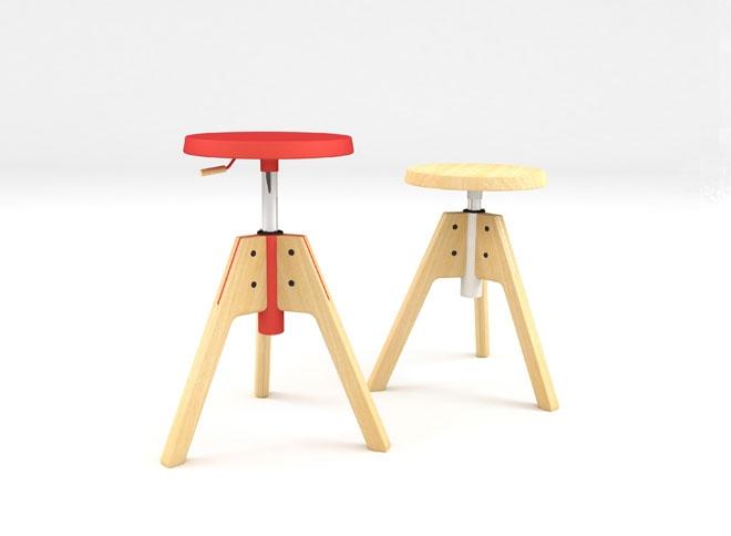 Design up prodotti pico sgabello design for Sgabello bagno design