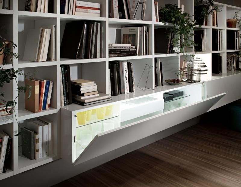 Design up prodotti selecta parete attrezzata design for Prodotti design