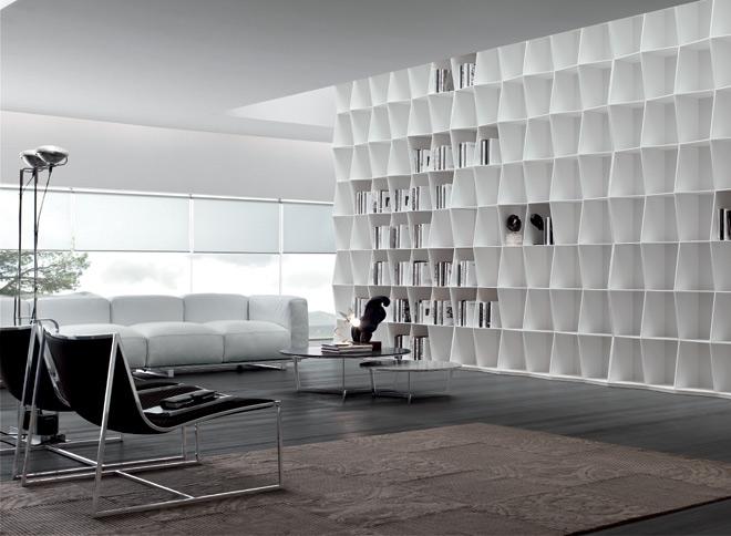 Design up prodotti wavy libreria design - Librerie arredo design ...